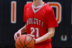 CIAC Boys Basketball; Watertown 63 vs. Wolcott 73 - Photo # 352