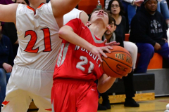 CIAC Boys Basketball; Watertown 63 vs. Wolcott 73 - Photo # 363
