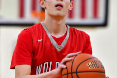 CIAC Boys Basketball; Watertown 63 vs. Wolcott 73 - Photo # 482