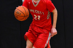 CIAC Boys Basketball; Watertown 63 vs. Wolcott 73 - Photo # 516