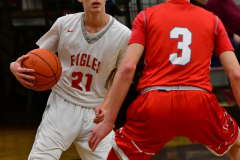 CIAC Boys Basketball; Wolcott 47 vs. Greenwich 76 - Photo # 379