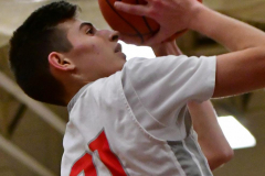 CIAC Boys Basketball; Wolcott 47 vs. Greenwich 76 - Photo # 495