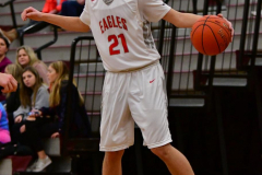 CIAC Boys Basketball; Wolcott 47 vs. Greenwich 76 - Photo # 532