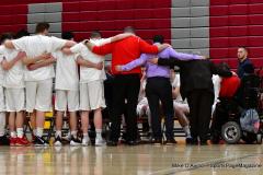 CIAC Boys Basketball; Wolcott 69 vs. East Hampton 63 - Photo # 179