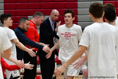 CIAC Boys Basketball; Wolcott 69 vs. East Hampton 63 - Photo # 234