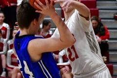 CIAC Boys Basketball; Wolcott 69 vs. East Hampton 63 - Photo # 320
