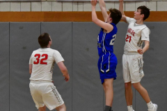 CIAC Boys Basketball; Wolcott 69 vs. East Hampton 63 - Photo # 751