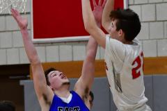 CIAC Boys Basketball; Wolcott 69 vs. East Hampton 63 - Photo # 989