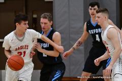 CIAC Boys Basketball; Wolcott 81 vs. Oxford 74 - Photo # 338