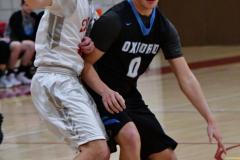 CIAC Boys Basketball; Wolcott 81 vs. Oxford 74 - Photo # 351