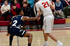 CIAC Boys Basketball; Wolcott vs. Ansonia - Photo # (418)