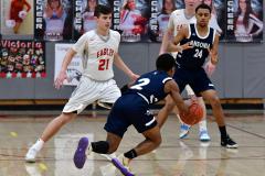 CIAC Boys Basketball; Wolcott vs. Ansonia - Photo # (461)
