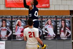 CIAC Boys Basketball; Wolcott vs. Ansonia - Photo # (556)