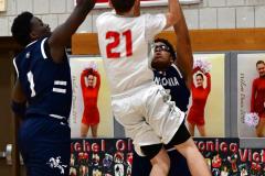 CIAC Boys Basketball; Wolcott vs. Ansonia - Photo # (784)