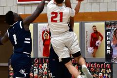 CIAC Boys Basketball; Wolcott vs. Ansonia - Photo # (785)