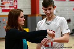 CIAC Boys Basketball; Wolcott vs. Ansonia - Photo # (792)