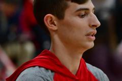 CIAC Boys Basketball; Wolcott vs. Ansonia, Pregame - Photo # (12)