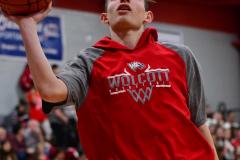 CIAC Boys Basketball; Wolcott vs. Ansonia, Pregame - Photo # (130)