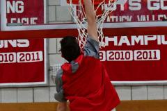 CIAC Boys Basketball; Wolcott vs. Ansonia, Pregame - Photo # (174)