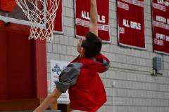CIAC Boys Basketball; Wolcott vs. Ansonia, Pregame - Photo # (59)
