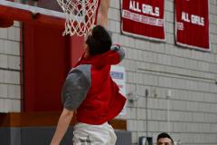 CIAC Boys Basketball; Wolcott vs. Ansonia, Pregame - Photo # (60)