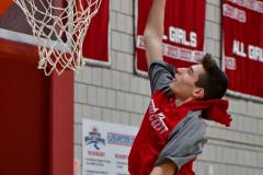 CIAC Boys Basketball; Wolcott vs. Ansonia, Pregame - Photo # (82)