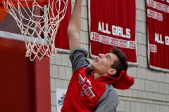 CIAC Boys Basketball; Wolcott vs. Ansonia, Pregame - Photo # (83)