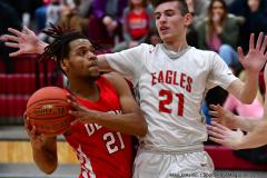 Gallery CIAC Boys Basketball; Wolcott vs. Derby - Photo # 608