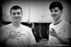 CIAC Boys Basketball; Torrington vs. Wolcott, Pregame - Photo # (45)