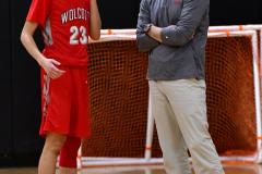 CIAC Boys Basketball; Watertown 63 vs. Wolcott 73 - Photo # 325