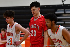 CIAC Boys Basketball; Watertown 63 vs. Wolcott 73 - Photo # 344
