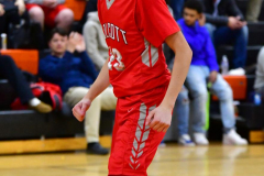 CIAC Boys Basketball; Watertown 63 vs. Wolcott 73 - Photo # 359