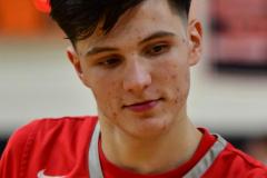 CIAC Boys Basketball; Watertown 63 vs. Wolcott 73 - Photo # 426