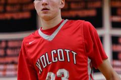 CIAC Boys Basketball; Watertown 63 vs. Wolcott 73 - Photo # 511