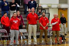 CIAC Boys Basketball; Wolcott 47 vs. Greenwich 76 - Photo # 132