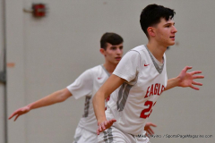 CIAC Boys Basketball; Wolcott 47 vs. Greenwich 76 - Photo # 237