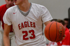 CIAC Boys Basketball; Wolcott 47 vs. Greenwich 76 - Photo # 269