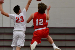 CIAC Boys Basketball; Wolcott 47 vs. Greenwich 76 - Photo # 271