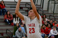 CIAC Boys Basketball; Wolcott 47 vs. Greenwich 76 - Photo # 408