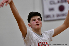 CIAC Boys Basketball; Wolcott 47 vs. Greenwich 76 - Photo # 460