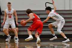 CIAC Boys Basketball; Wolcott 47 vs. Greenwich 76 - Photo # 527