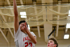 CIAC Boys Basketball; Wolcott 47 vs. Greenwich 76 - Photo # 540