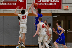 CIAC Boys Basketball; Wolcott 69 vs. East Hampton 63 - Photo # 1024