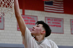 CIAC Boys Basketball; Wolcott 69 vs. East Hampton 63 - Photo # 1038