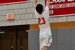 CIAC Boys Basketball; Wolcott 69 vs. East Hampton 63 - Photo # 159