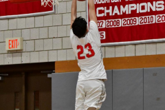 CIAC Boys Basketball; Wolcott 69 vs. East Hampton 63 - Photo # 160