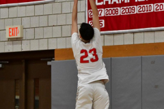 CIAC Boys Basketball; Wolcott 69 vs. East Hampton 63 - Photo # 162