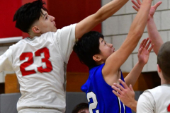 CIAC Boys Basketball; Wolcott 69 vs. East Hampton 63 - Photo # 353