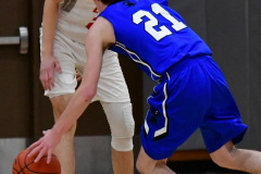CIAC Boys Basketball; Wolcott 69 vs. East Hampton 63 - Photo # 391