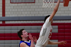 CIAC Boys Basketball; Wolcott 69 vs. East Hampton 63 - Photo # 603